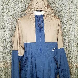 80's Vintage Nike mens color block  windbreaker